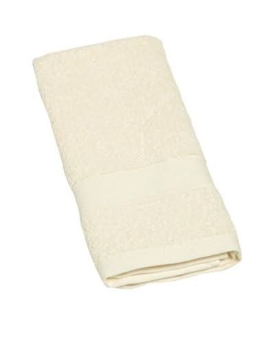 Cotton & Co. Handtuch Euclide Jacquard creme