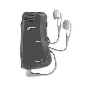 Geemarc Amplified Personal Hearing Assistant, Black by Geemarc