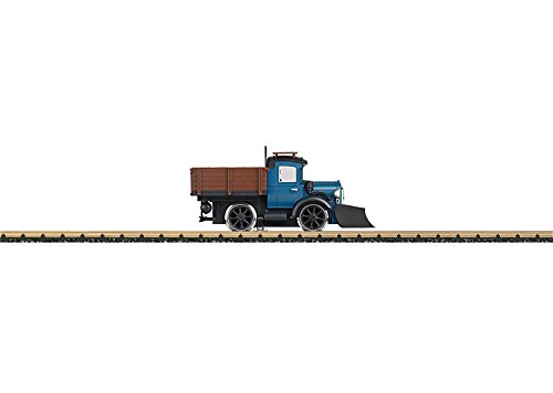 LGB Powered Rail Truck with Snowplow Pilot Standard DC G Scale Car