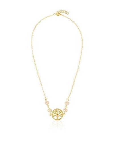 My Silver Collar  plata de ley 925 milésimas bañada en oro