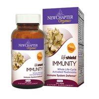 (好评)New Chapter LifeShield Immunity新章生命盾免疫力有机珍蘑营养素60粒SS$16.76