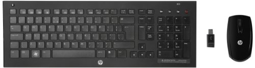 HP C6000 Wireless Desktop Kit with Wireless Keyboard and Optical Mouse