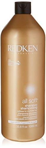 Redken All Soft Shampoing nourrissant pour cheveux secs/cassants 1000 ml