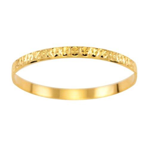 Wedding Ring, 9 Carat Yellow Gold Light Flat