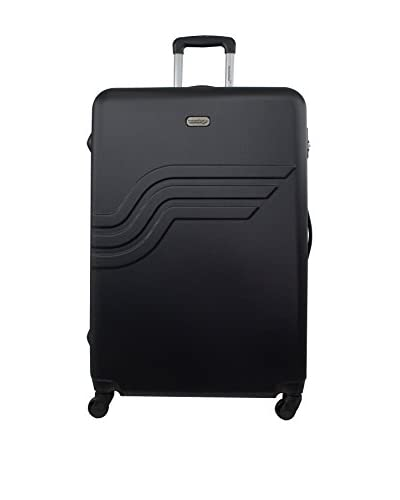 AMERICAN TRAVEL Hartschalen Trolley Large Queens 70 cm schwarz