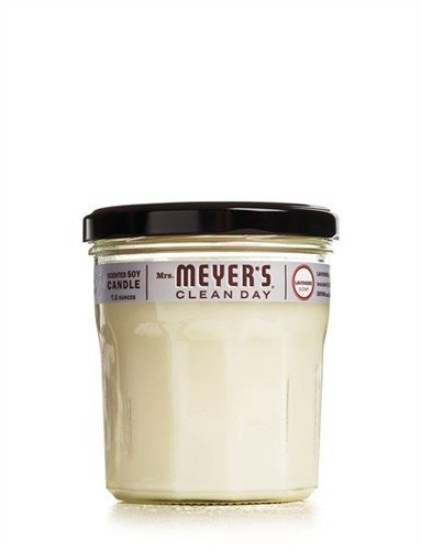 Mrs. Meyer's Clean Day Soy Candle, Lavender, 7.2 Ounce Glass Jar