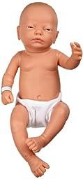 3B Scientific W17001 Female Baby Care Model, 19.7\