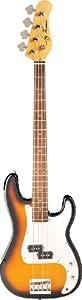 Jay Turser Bass Guitars Jtb-400c-tsb 4-string Bass Guitar, Tobacco Sunburst