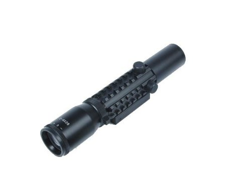 Ultimate Arms Gear 2-6X28 Duplex Reticle Rifle-Shotgun Scope W/ Integral Weaver-Picatinny Accessory System And Mounting Base