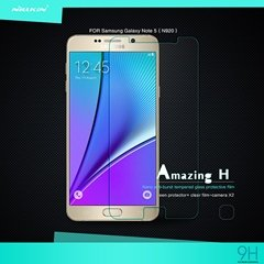 Zhopix Original Nillkin Amazing H Protective Tempered Glass For Samsung Galaxy Note 5