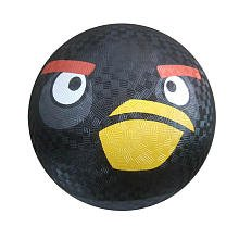 "Angry Birds 8.5"" Playground Black Ball in Display Box - 1"