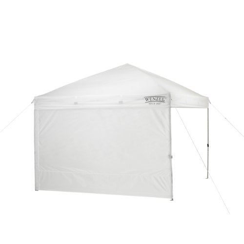 Wenzel Smartshade Sunscreen and Windbreak Wall (White, 10-Feet)