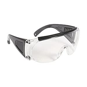 Allen Company Fit-Over Shooting Safety Glasses