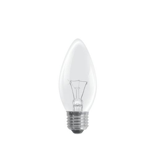 Classic Ampoule flamme claires 40 W Culot Edison à vis (Lot de 10)