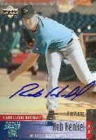 Rob Henkel Jupiter Hammerheads - Marlins Affiliate 2002 Upper Deck Autographed Hand... by Hall of Fame Memorabilia