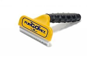 "FurGOpet Deshedding Kit, 4"" deshedding Tool for Large Dogs + Comb and Slicker Brush"