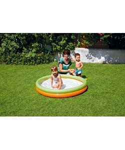 Chad valley 2 ring paddling pool for Garden pool argos