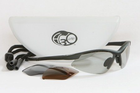 H3O Surge Lite Fishing Sunglasses with 3 Replaceable Polarized Lenses