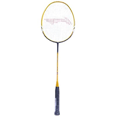 Li-Ning Super Series SS-68 II Badminton Racquet (Silver/Yellow/Black)