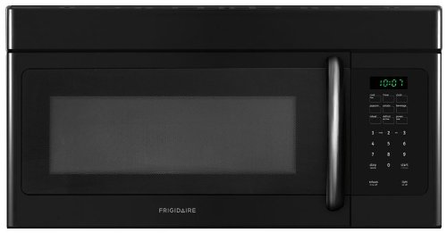 Big Save! Frigidaire FFMV162LB 1.6 Cu. Ft. Over-The-Range Microwave - Black