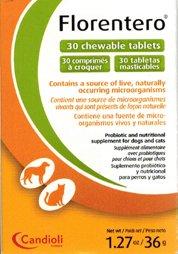 Florentero Symbiotic Chewable Tablets, 30 Count