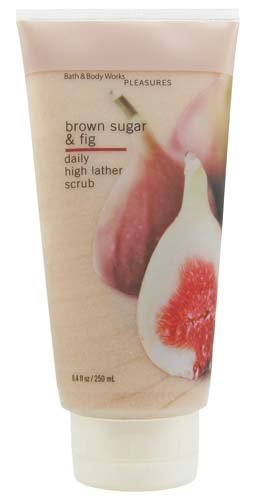 Bath &amp; Body Works Brown Sugar &amp; Fig Pleasures Collection Daily High Lather Scrub