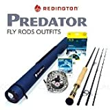 "Redington Predator 983-4 Fly Rod Outfit (9wt, 8'3"" 4pc)"