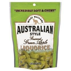 Wiley Wallaby Green Apple Licorice 10 oz licorice pieces
