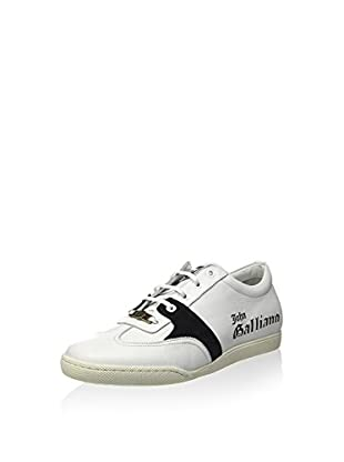 John Galliano Zapatillas (Blanco / Negro)