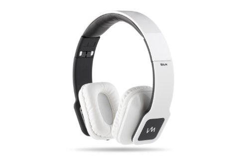 Vm Audio Elux On Ear Dj Stereo Mp3 Iphone Ipod Bass Headphones Piano White Black