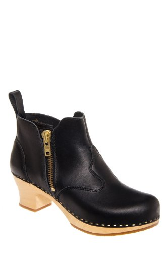 Zip It Victoria Mid Heel Bootie
