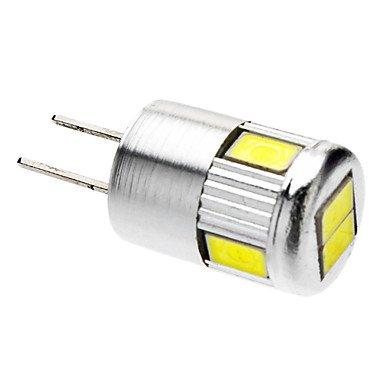 Glühbirne, G4 3W 6x5730SMD 220-250LM 6000K kühles weißes Licht LED-Spot-Lampe (12V)