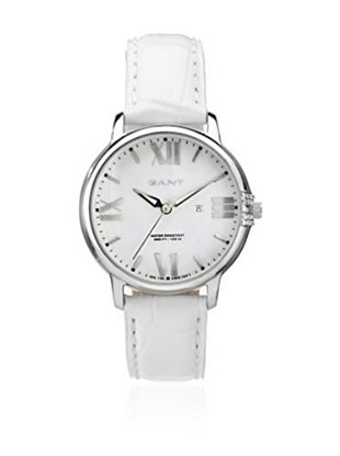 Gant Reloj con movimiento Miyota Brighton W10862 Blanco 38 mm