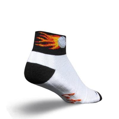 Buy Low Price SockGuy Channel Air 2in En Fuego Cycling/Running Socks (B0025UUS6Y)