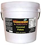 Tropical Traditions Certified Organic Sulfite-free and Sugar-free Coconut Flakes - 1 Gallon Pail