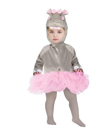 Ballerina Hippo Baby Costume