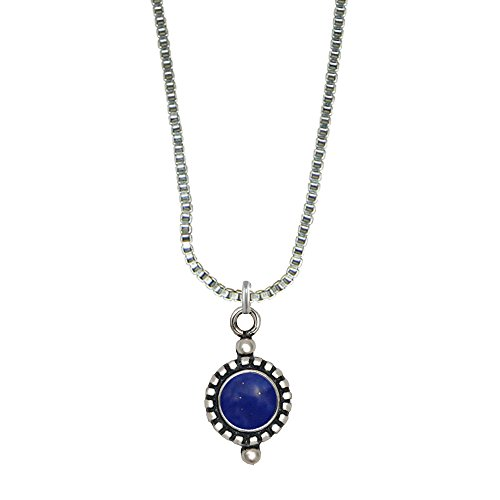 An Cute Little Lapis Lazuli Pendant When You Need Just a Little Bit of Color Made in America