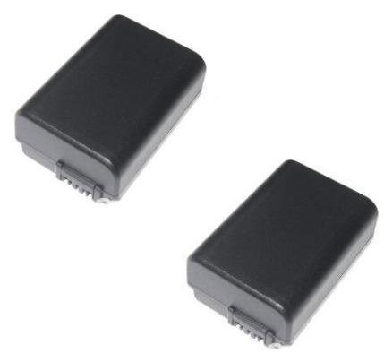 2x LOOKit® Markenakku für Sony NP-FW50 / 1045mAh -- passend für Sony Alpha 5000 / Sony Alpha 7 / Sony CyberShot DSC RX10 -- Sony NEX-6 NEX-F3 NEX-7 NEX-7B NEX-7C NEX-7K NEX-3 NEX-C3 NEX-3N NEX-5 NEX-5N NEX-5K NEX-5R SLT A55 A33 A35 A37