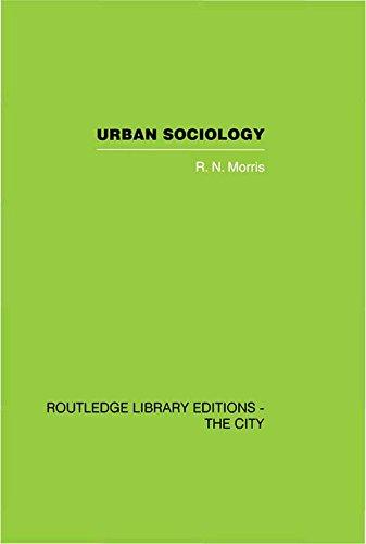 Urban Sociology, by R.N. Morris