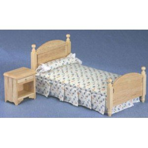 Night Stand Oak front-1060986