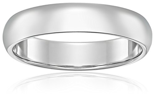 Classic Fit Platinum Band, 4mm, Size 6 (Platinum 4mm Band compare prices)