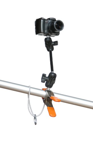 Nclamp® Camera Clamp Mount With Toughbar® Extension | The Only Rugged Clamping Mount For Camera, Video, Speedlight, Binoculars And Scope. With An Nclamp Your Camera Is Held Stable While Its Premium-Quality Head Provides Unparalleled Positioning Flexibilit