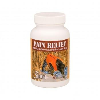 Dog Aspirin - Sport Pain Relief with Buffered Aspirin Aid in Temporary Relief of Pain and Inflammation in Dogs - Liver Flavored - 75 Count - Made in USA