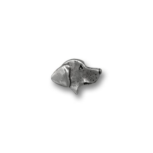 Pewter Labrador Lapel Pin by The Magic Zoo