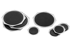 Premier Housewares Furniture Sliders - Set of 8 - Black