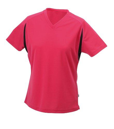 James & Nicholson Women's Running T-shirt - Red, S