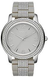 DKNY Glitz Light Grey Dial Women's Watch #NY8425