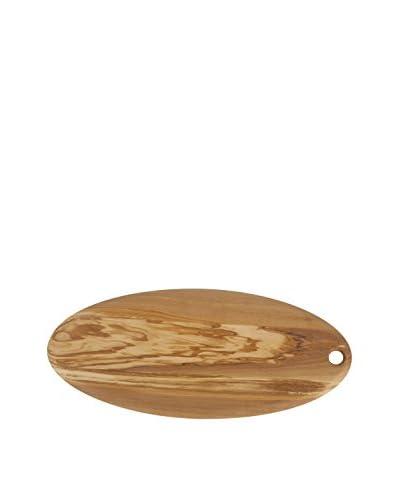 Core Bamboo Medium Olive Wood Oval Cutting Board