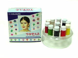 Liquid Kumkum Bindi: 11 Color 2gm Each