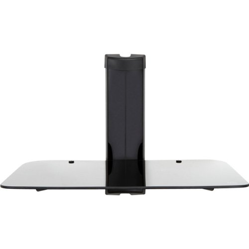 MW Mounts MWS1 Wall Mountable Glass Shelf